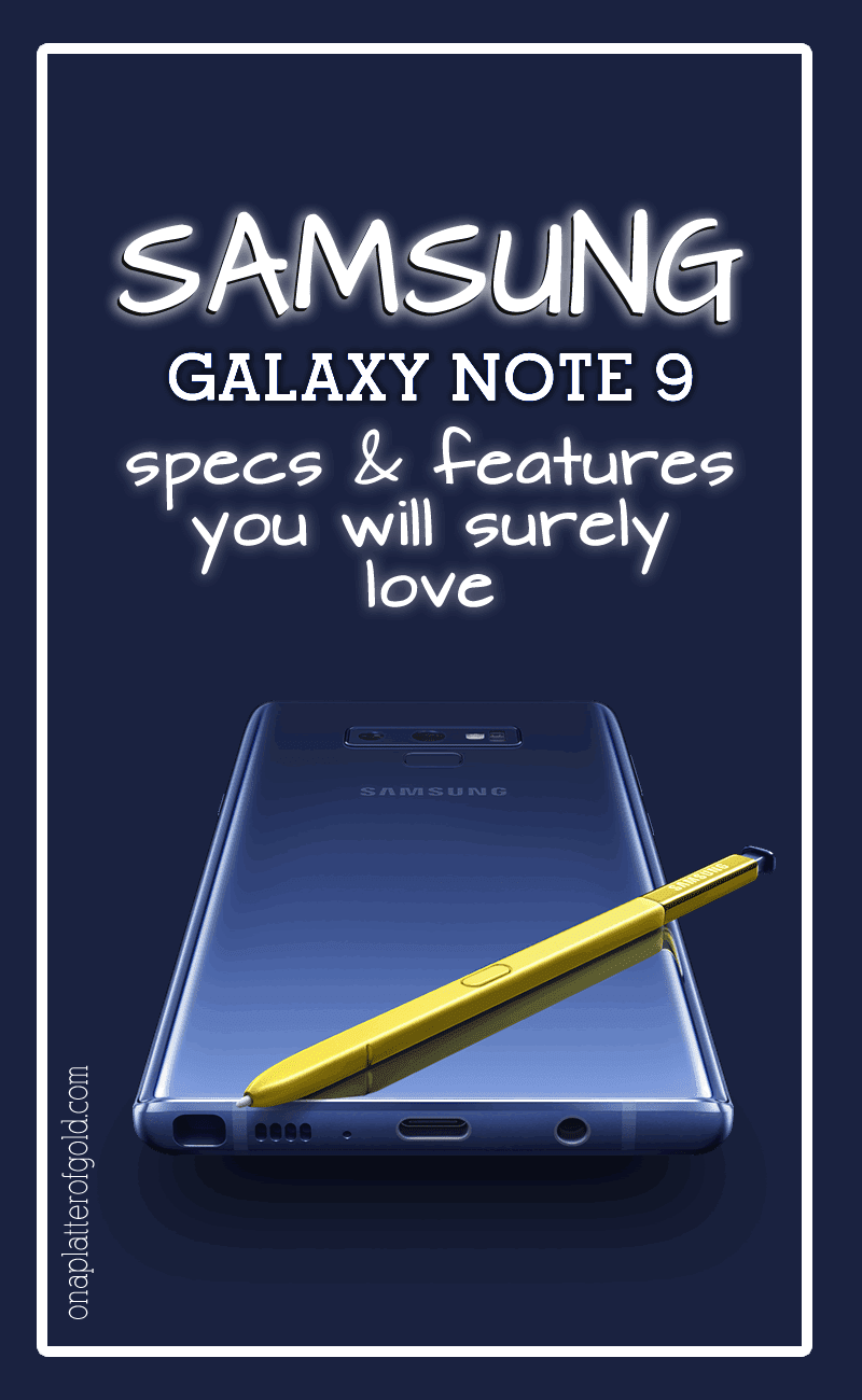 Samsung Galaxy Note 9 Specs And Features You Will Probably Love