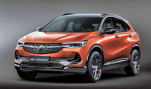 Burlappcar: 2021 Buick Encore GX