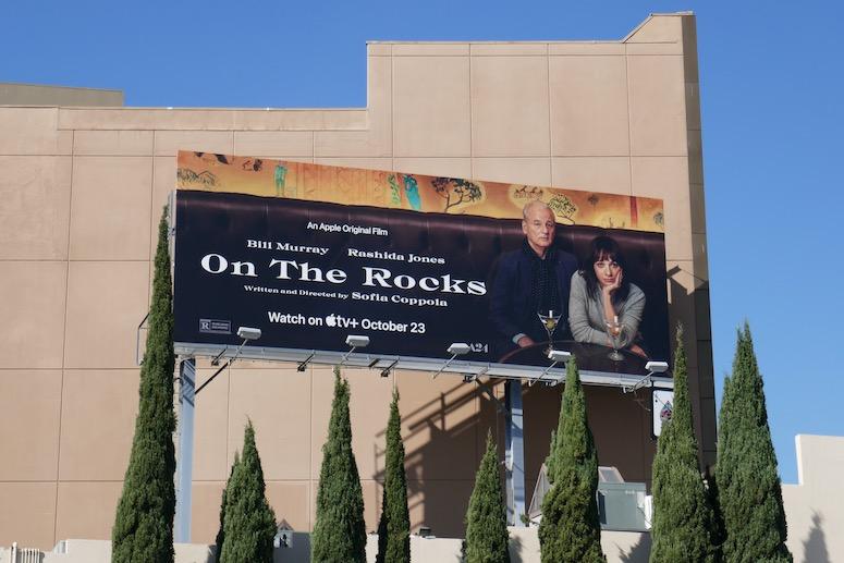 On the Rocks film billboard