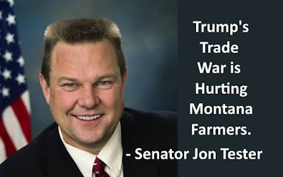 MEME - tRUMP's Trade War is Hurting Montana Farmers - Senator Jon Tester - gvan42