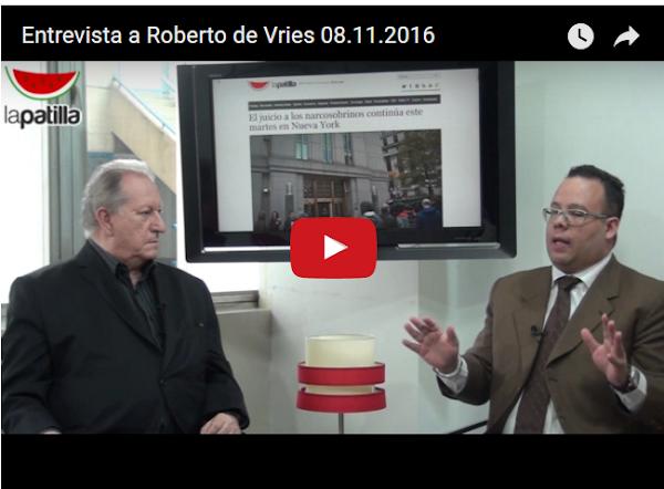 Falleció Roberto de Vries