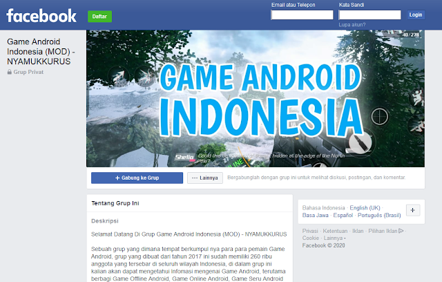 Grup Game Android Indonesia