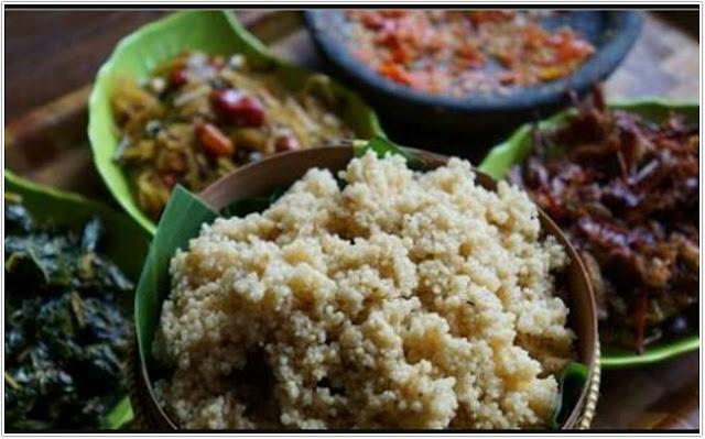 10 Top Kuliner Trenggalek;Nasi tiwul