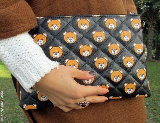 Teddy Bear Clutch