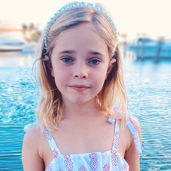 Princess Madeleine of Sweden released a new photo of her daughter Leonore on social media to mark that birthday