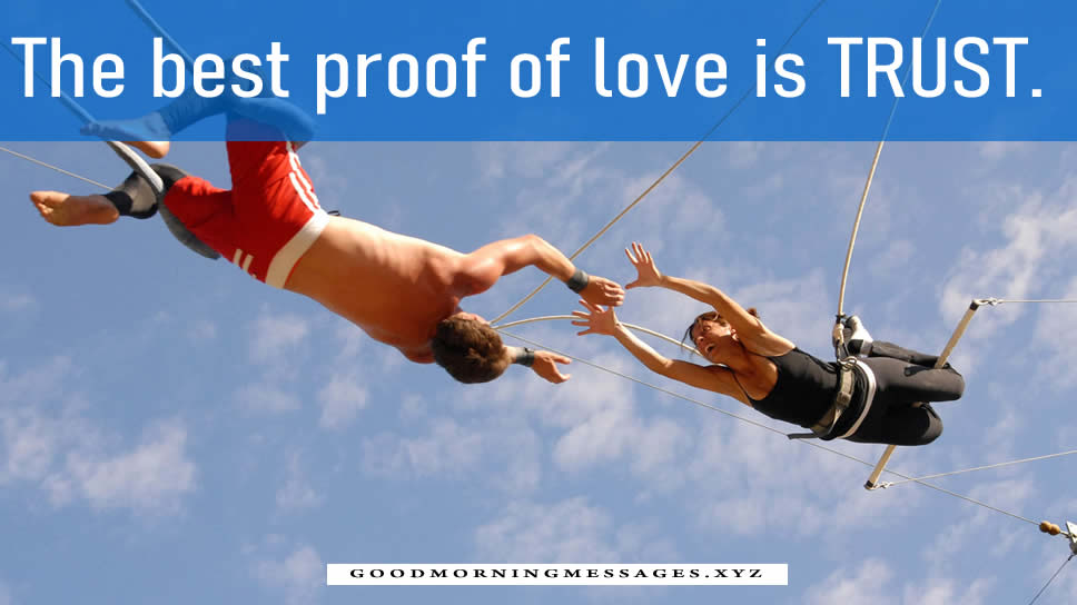 Trust Quotes For Love