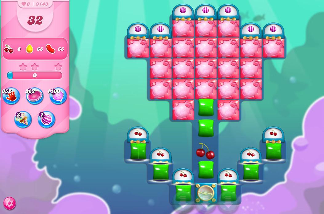 Candy Crush Saga level 9143