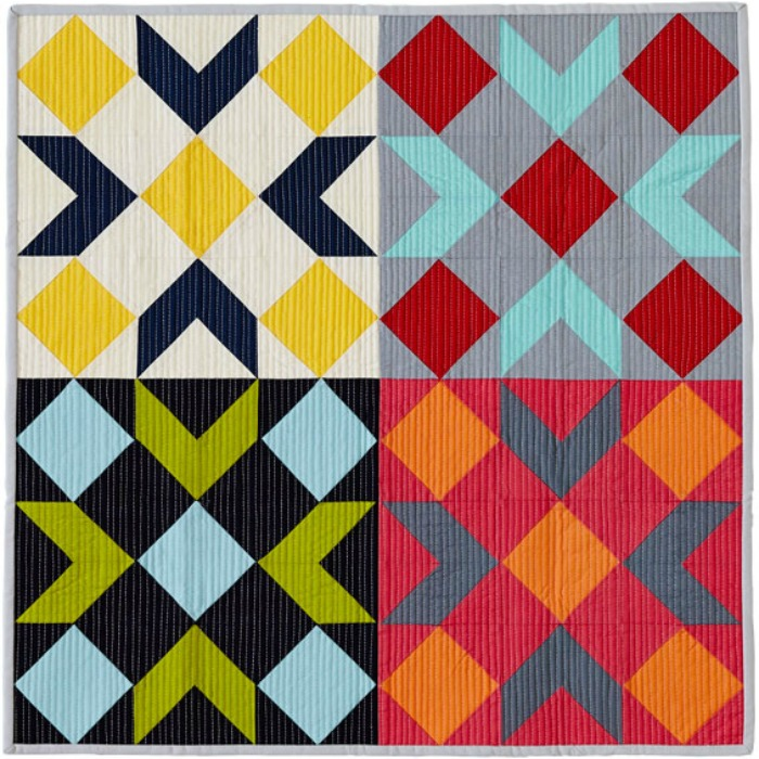 Great Lakes Modern Quilt Guild August Online Activity Barn Quilt Block New Barn Quilt Patterns