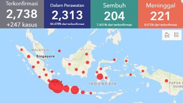 Update Corona 7 April 2020 Indonesia & Dunia: Data Terbaru