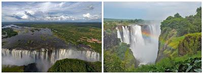 Cataratas Victoria en África Zimbabwe