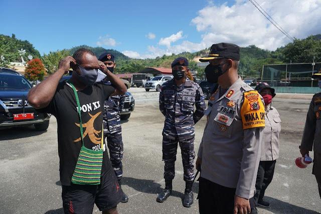 Operasi Yustisi di PTC Entrop, 9 Warga Kena Sanksi Ditahan di Lapas Abepura