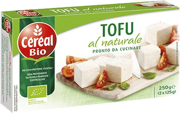 Tofu vegano vegetariano