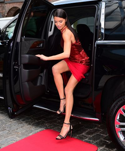 "Adriana Lima – ""Red Hot"" Photoshoot"