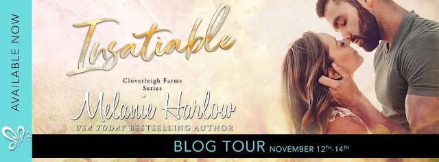 Melanie Harlow - Insatiable || fragment