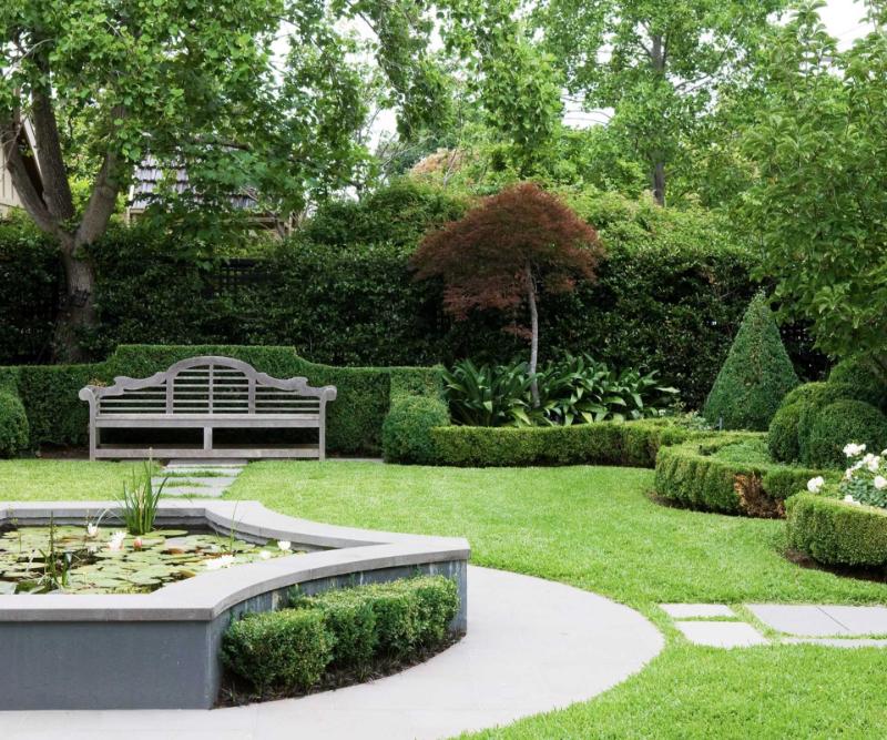Formal Garden Design   GWJR