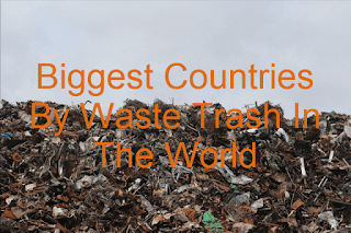 waste, garbage, countries in the world,