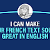 I will provide a professional french to english translation