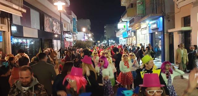 Νυχτερινή παρέλαση καρναβαλιστών και show με φωτιές το Σάββατο στο Άργος