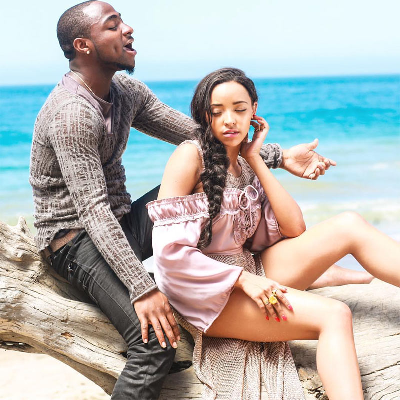 They look like lovebirds! Davido and US singer Tinashe