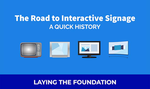 What is Interactive Digital Signage? - A Quick History