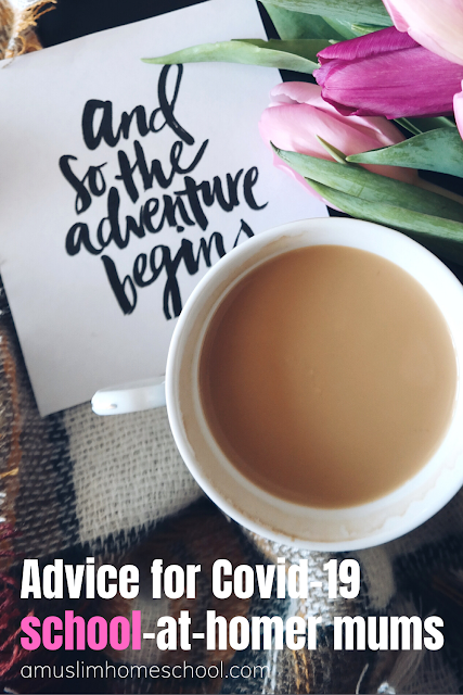 advice for covid 19 school at home mums