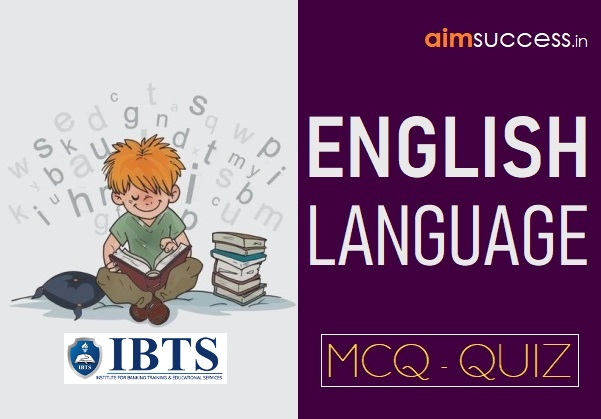 English MCQ for IBPS PO/ Clerk/ SEBI/ ESIC 2018: 18 October
