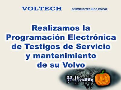 Programacion testigos Volvo - VOLTECH