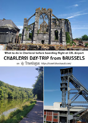 Day-trip to Charleroi from Brussels Pinterest