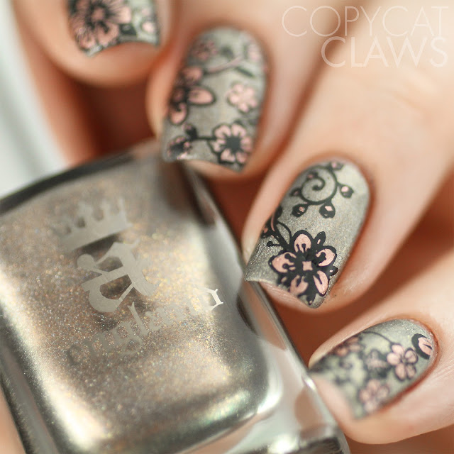 Whats Up Nails A005 Floral Paradise Stamping Plate