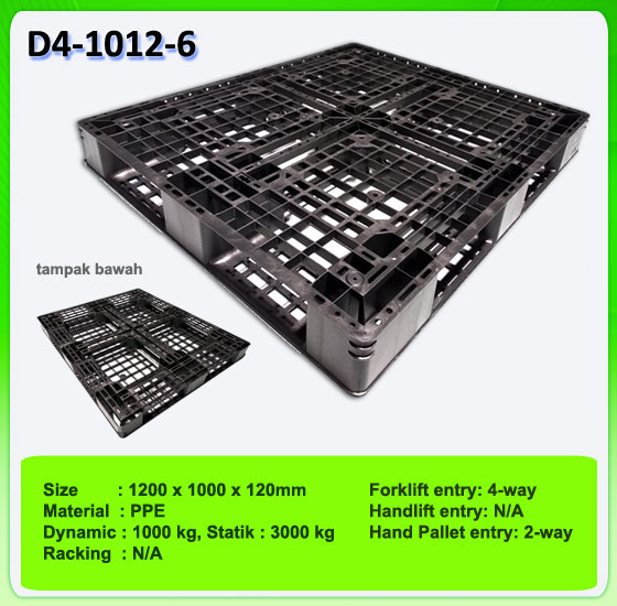 Harga Pallet Plastik One way series