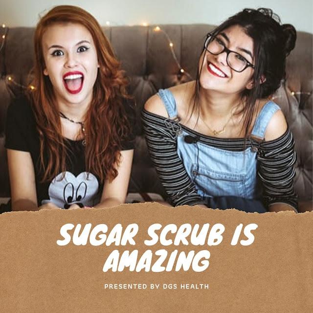 diy face scrub with sugar
