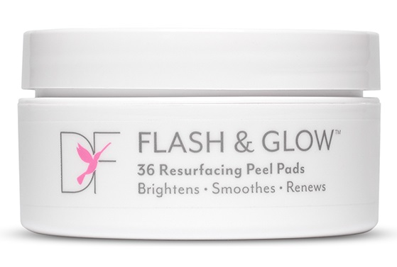 2859f047d Review: DERMAFLASH FLASH & GLOW Resurfacing Peel Pads #DERMAFLASH ...