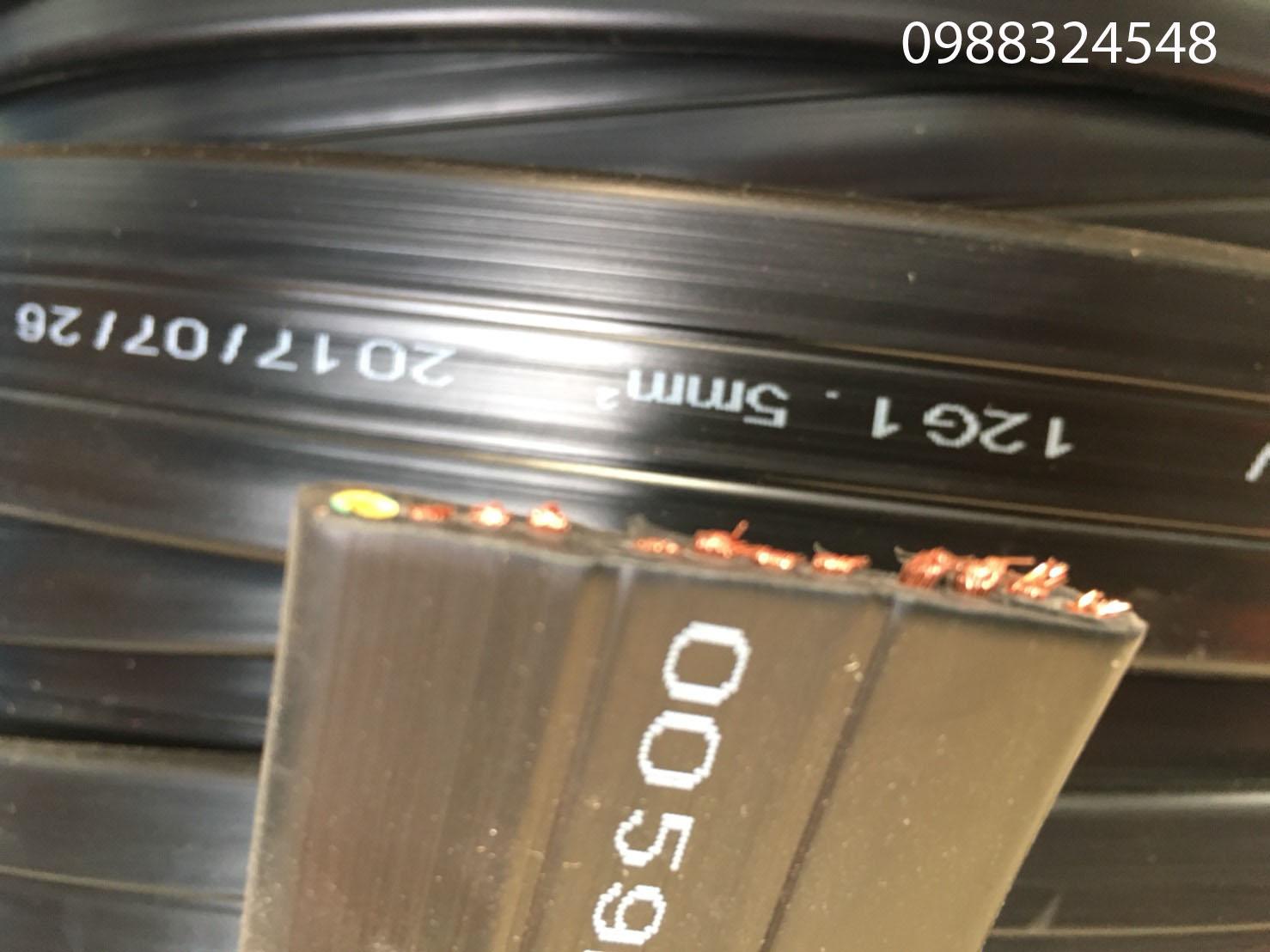 Cáp điện dẹt 12C x 1.5mm2