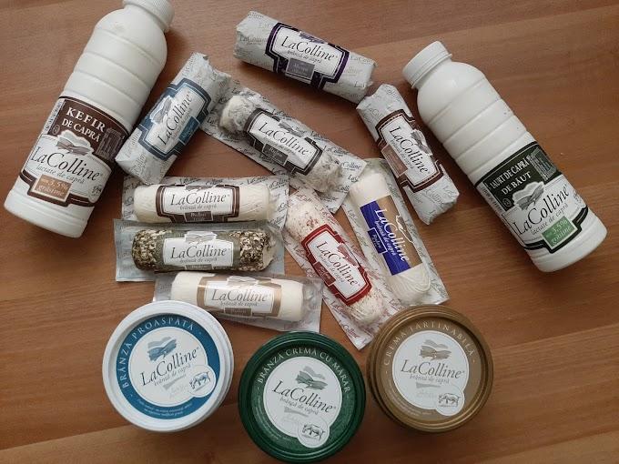 La Colline lansează gama de brânzeturi MIX