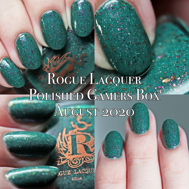 Rogue Lacquer Polished Gamers Box August 2020