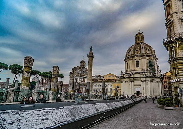 Fórum de Trajano, Roma
