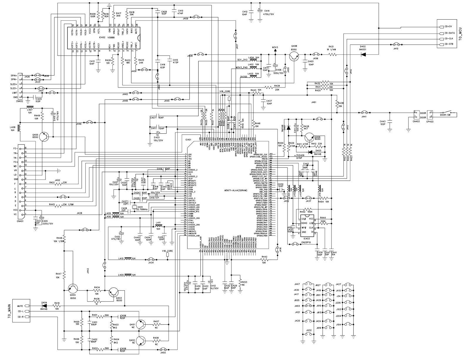 manguonblog: Britania micro system BS370 schematic