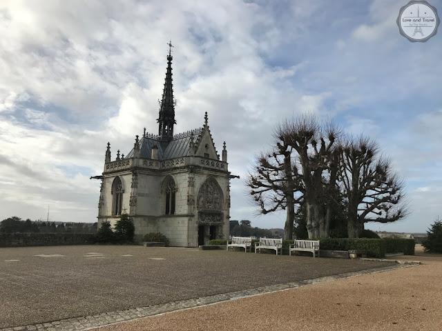 Château Royal Amboise Vale do Loire França Leonardo da Vinci