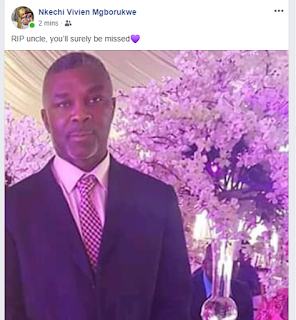Nigerian footballer, Mandela Egbo loses his father