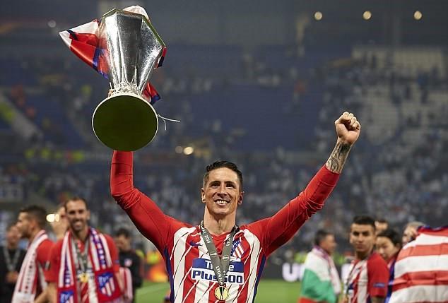 Juara Liga Eropa hadiah terakhir Torres untuk Atletico