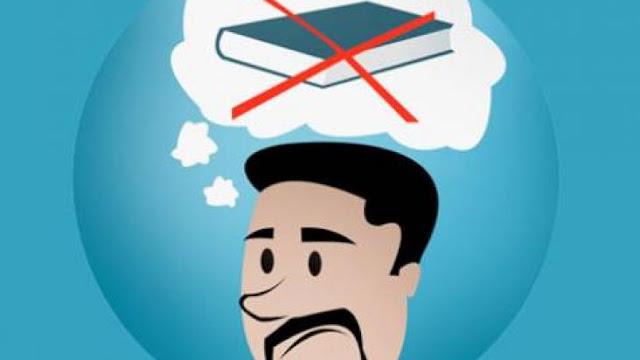 مالذي يجعل جُل العرب في عداء مستمر مع القراءة ؟