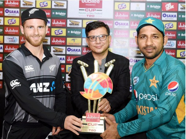 The first T-Twenty20 match between Pakistan and New Zealand will be played today