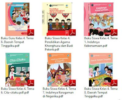 Buku Kurikulum 2013 SD Kelas 4 Tema Indahnya Kebersamaan Revisi 2017