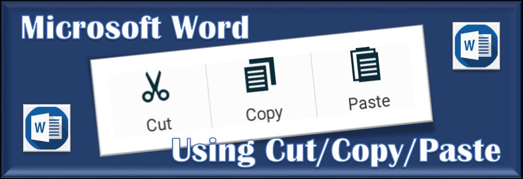Hindi Video Using Cut/Copy/Paste in Microsoft Word