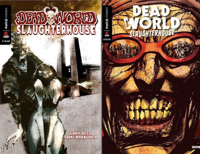 Deadworld #2 – Slaughterhouse: regular (sx) e variant cover (dx)