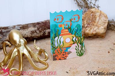 Submarine box card