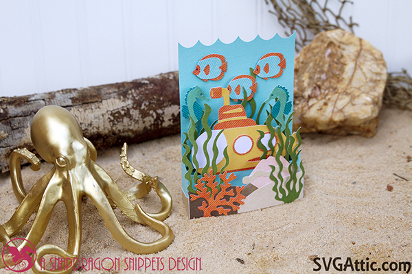 Submarine box card