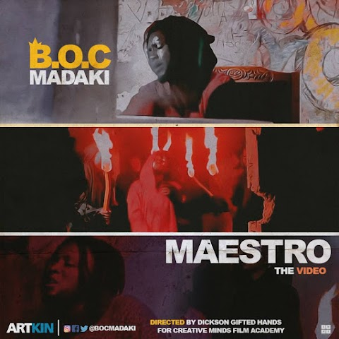 NEW VIDEO: MAESTRO- BOC MADAKI
