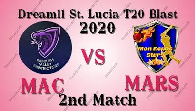 Who will win MAC vs MRS 2nd T10 Match