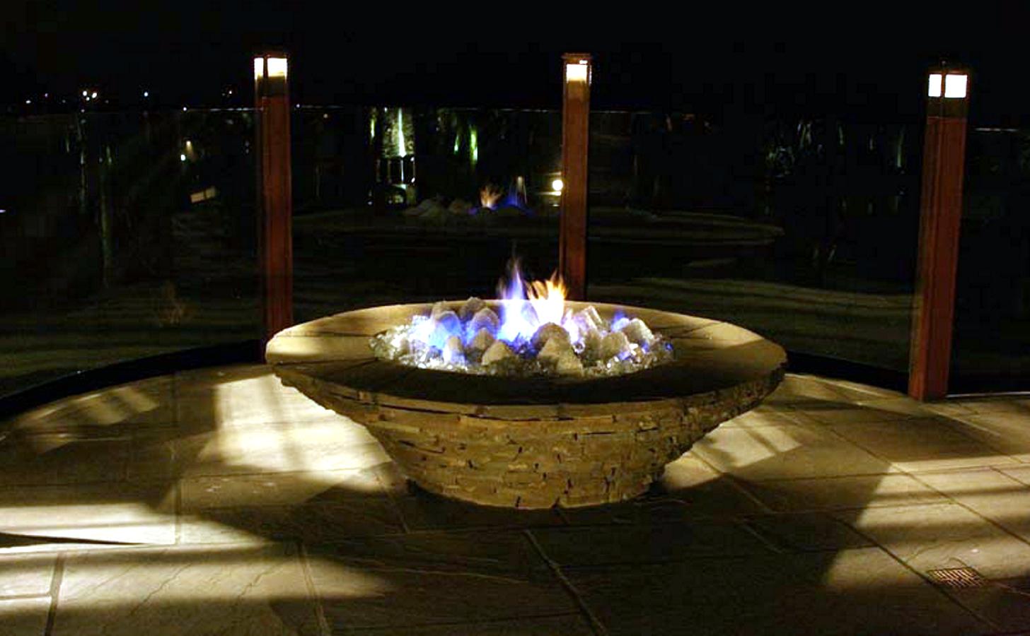 Luxury Life Design Diamond Fire Glass